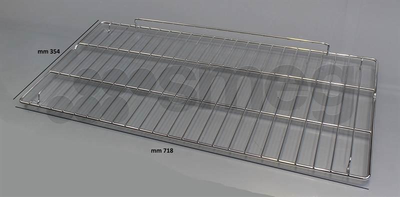 pi ces d tach es four et cuisini re grille de cuisson inox pour cuisiniere smeg 844092165. Black Bedroom Furniture Sets. Home Design Ideas
